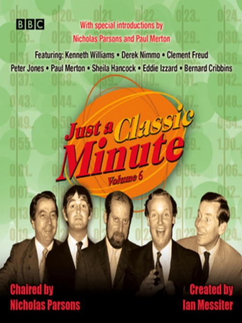 Just A Classic Minute  Volume 6 Cover