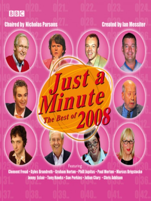 Just A Minute: The Best of 2008 Cover