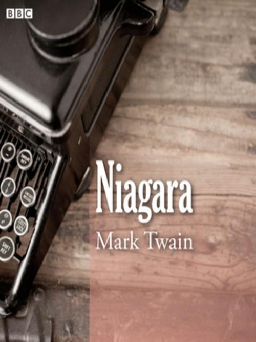 Mark Twain's Niagara Cover