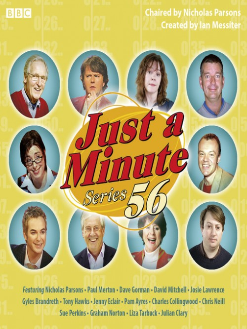 Just A Minute, Series 56, Episode 10 Cover