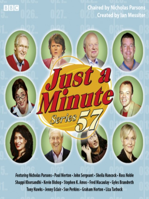 Just A Minute, Series 57, Episode 6 Cover