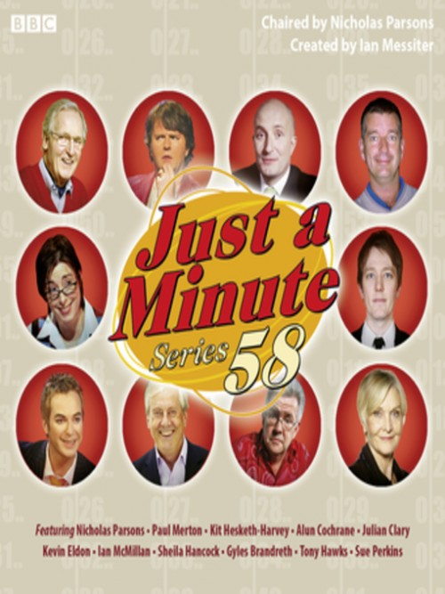 Just A Minute, Series 58 Cover
