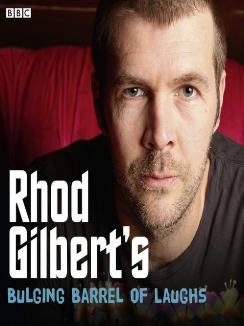Rhod Gilbert's Bulging Barrel of Laughs, Series 1 Cover