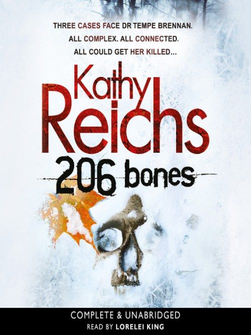 Temperance Brennan Book 12: 206 Bones Cover