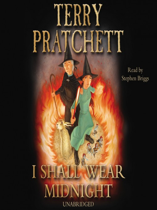 Discworld Series Book 5: I Shall Wear Midnight Cover