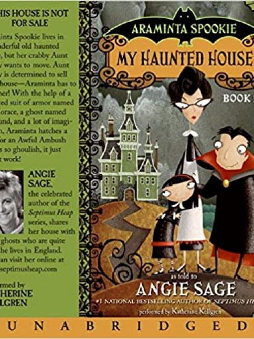 Araminta Spook Series Book 1: My Haunted House Cover
