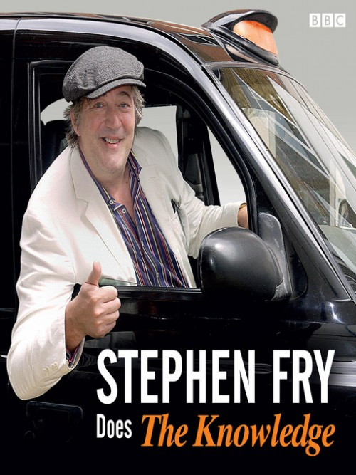 Stephen Fry Does the Knowledge Cover