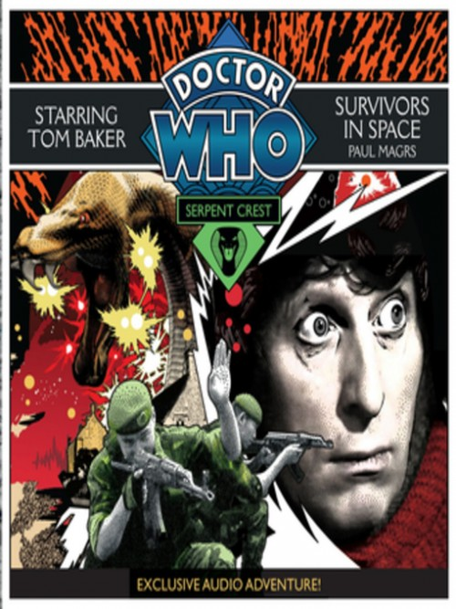 Survivors In Space. Doctor Who Serpent Crest Series Book 3 Cover