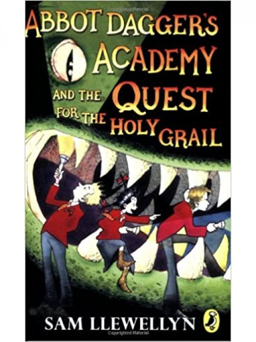 Abbot Dagger's Academy and the Quest For the Holy Grail Cover