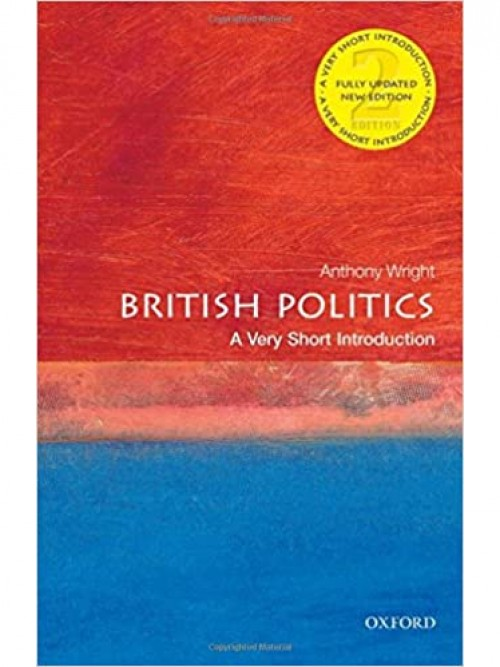 British Politics: A Very Short Introduction Cover