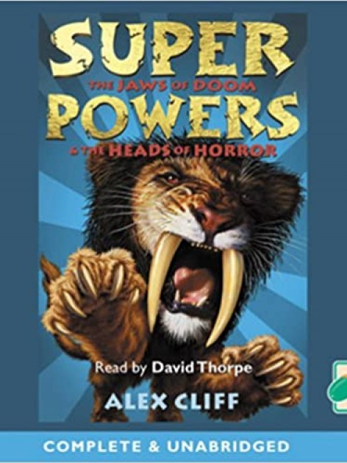 Superpowers: The Jaws of Doom & the Heads of Horror Cover