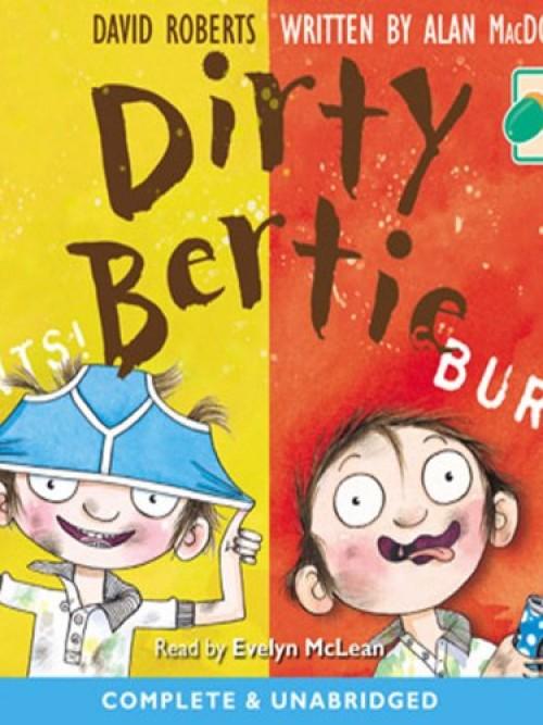 Dirty Bertie: Pants! & Burp! Cover