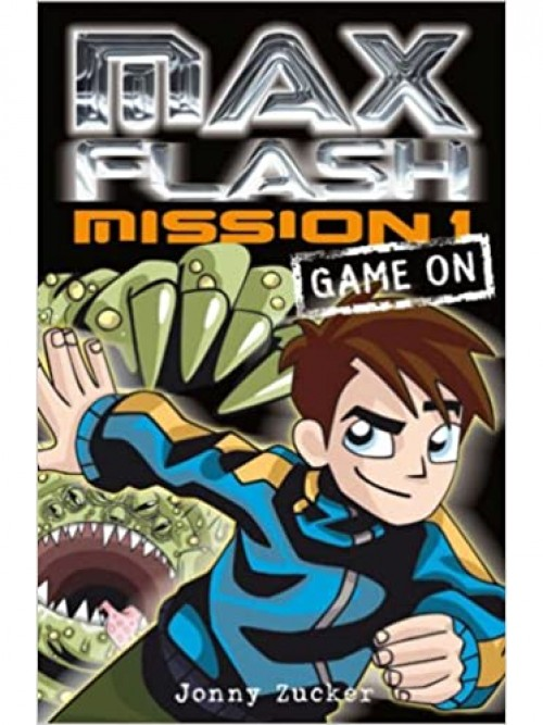 Max Flash Mission 1: Game On Cover
