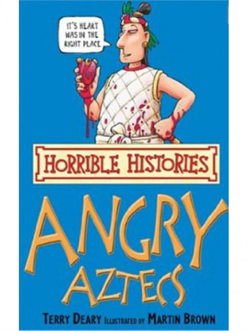Angry Aztecs Cover