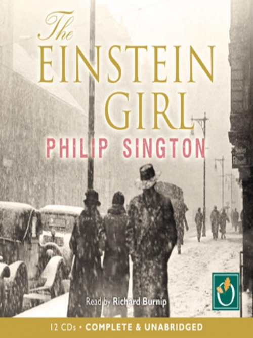 The Einstein Girl Cover