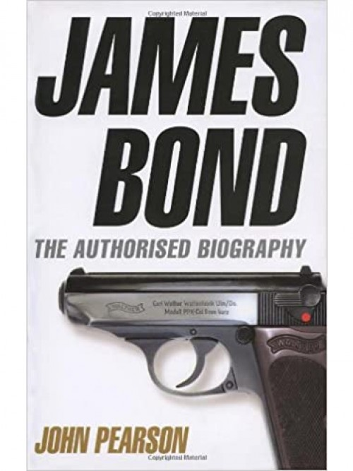James Bond: The Authorised Biography Cover