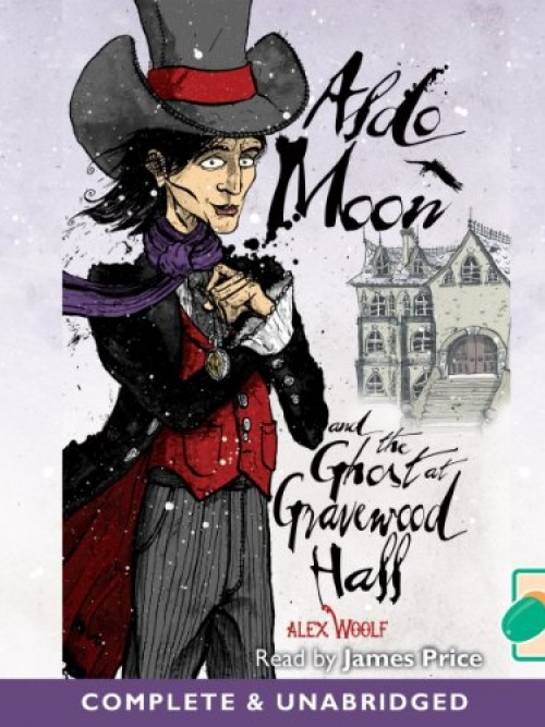 Aldo Moon & the Ghost At Gravewood Hall Cover