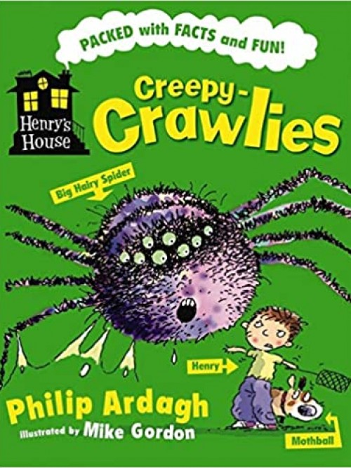 Henry's House: Creepy Crawlies Cover