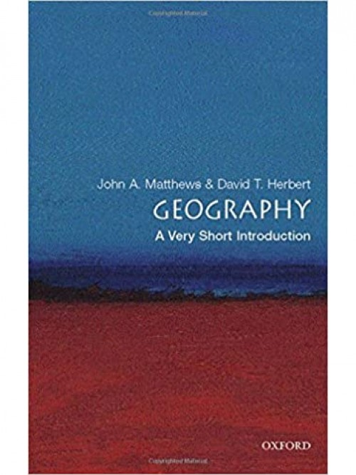 Geography: A Very Short Introduction Cover