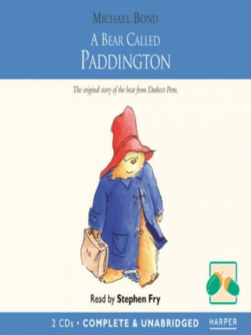 Paddington Book 1: A Bear Called Paddington Cover