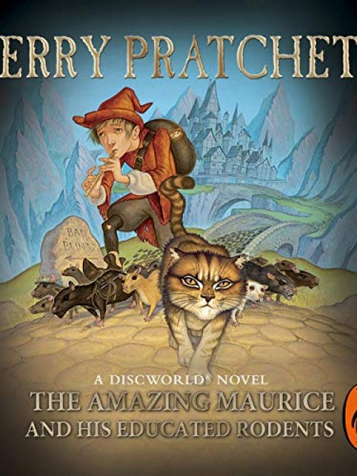 Discworld Series Book 28: The Amazing Maurice and His Educated Rodents Cover