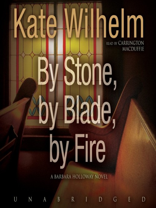Barbara Holloway Series Book 13: By Stone, By Blade, By Fire Cover