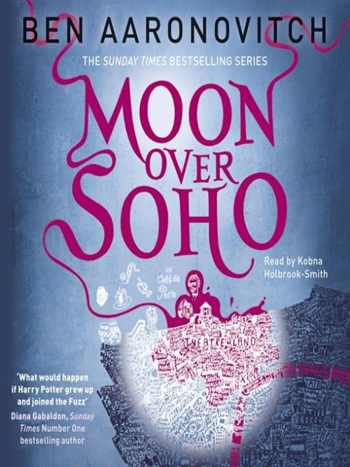 Rivers of London Book 2: Moon Over Soho Cover