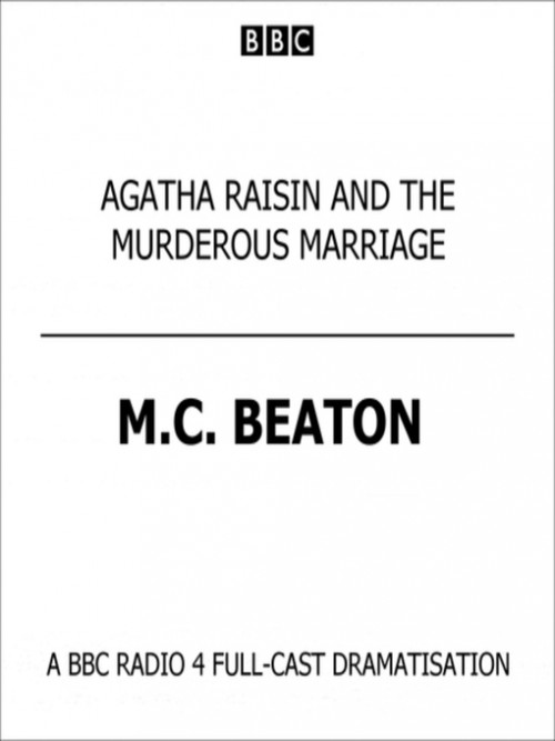 Agatha Raisin and the Murderous Marriage Cover
