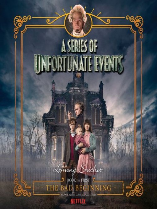 A Series of Unfortunate Events Book 1: The Bad Beginning Cover