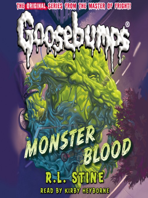 Goosebumps Series Book 3: Monster Blood Cover