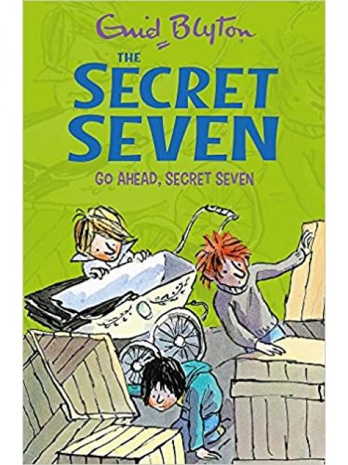 Go Ahead, Secret Seven Cover