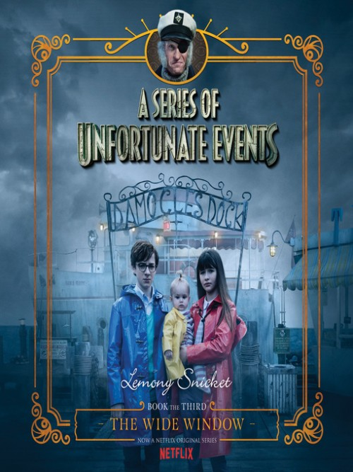 A Series of Unfortunate Events Book 3: The Wide Window Cover