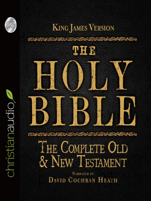 The King James Holy Bible Cover