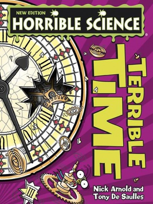 Horrible Science: Terrible Time Cover