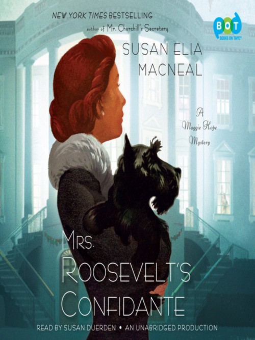 Maggie Hope Series Book 5: Mrs Roosevelt's Confidante Cover