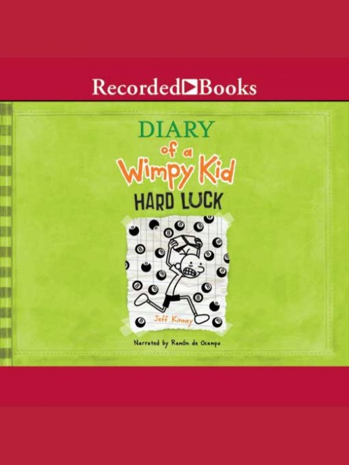 Diary of A Wimpy Kid Book 8: Hard Luck Cover