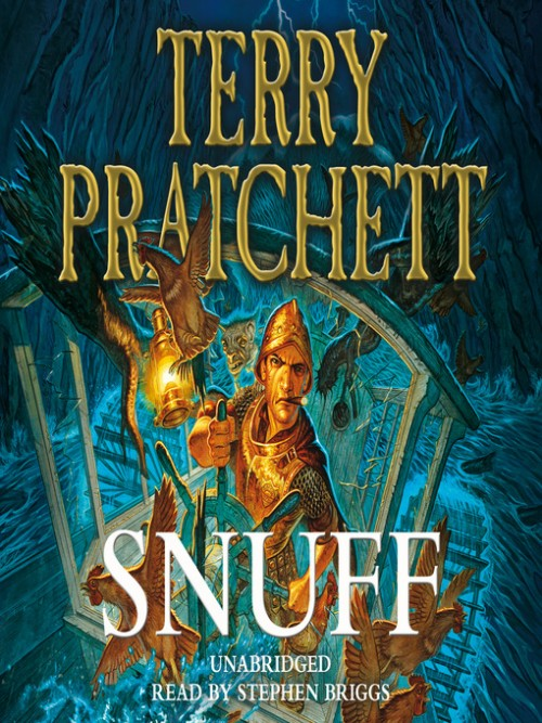 Discworld Series Book 39: Snuff Cover