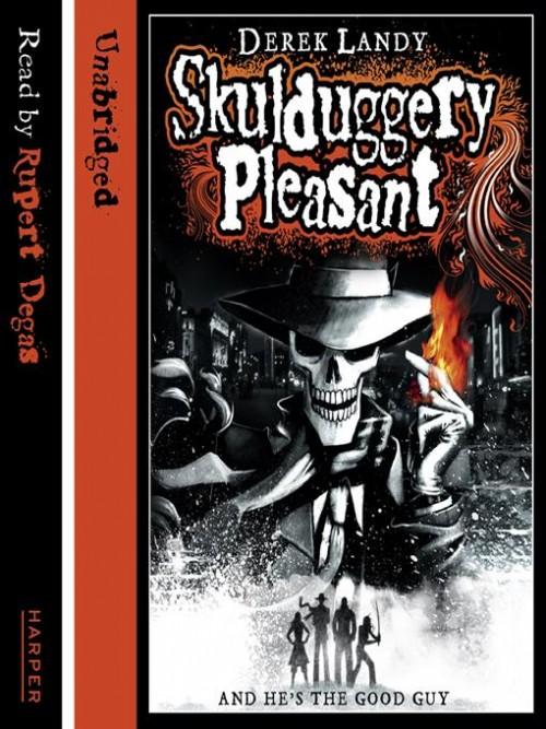 Skulduggery Pleasant Cover
