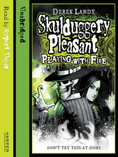 Skulduggery Pleasant 2: Playing With Fire Cover