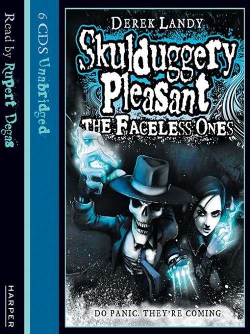 Skulduggery Pleasant Book 3: The Faceless Ones Cover