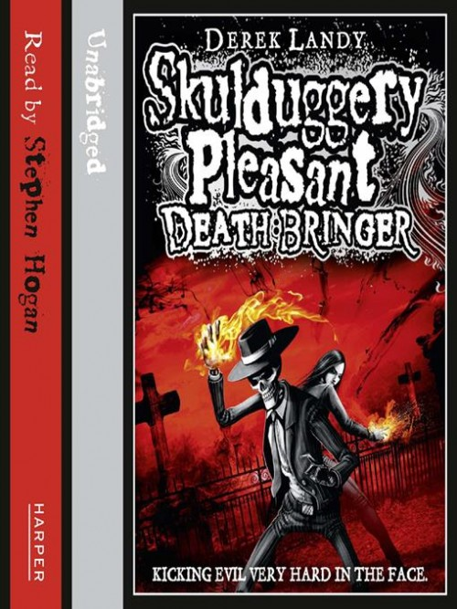 Skulduggery Pleasant Book 6: Death Bringer Cover
