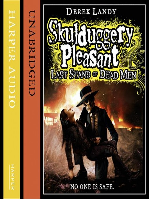 Skulduggery Pleasant Book 8: Last Stand of Dead Men Cover