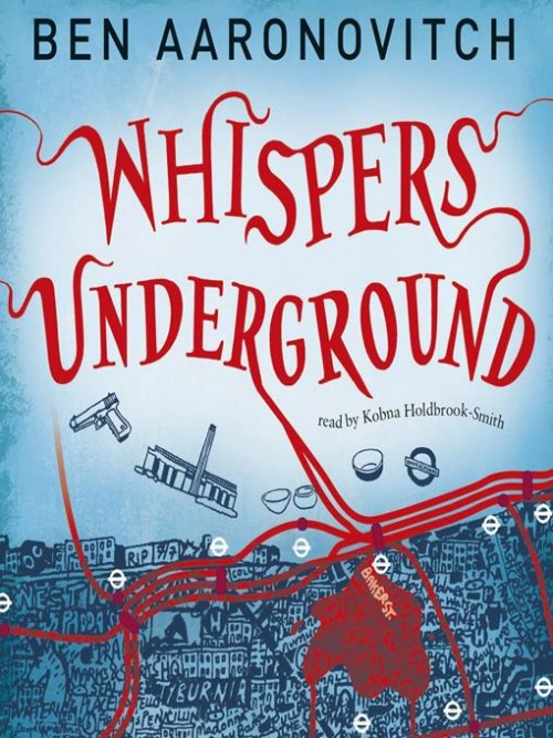 Rivers of London Book 3: Whispers Under Ground Cover