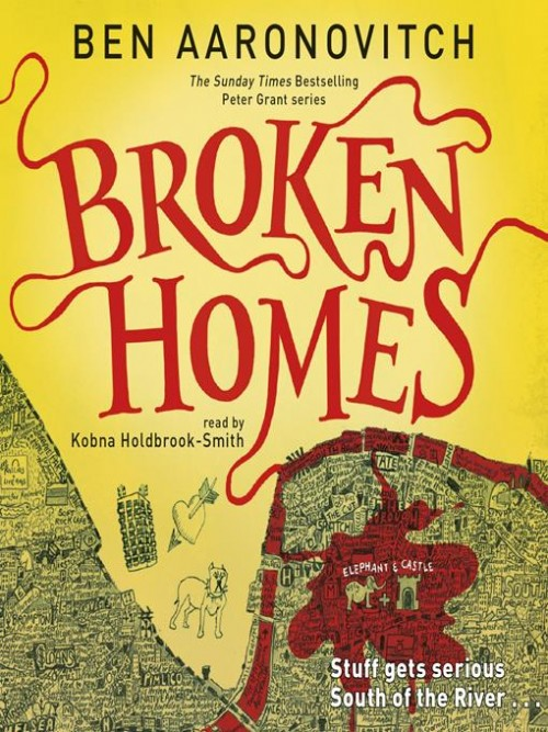Rivers of London Book 4: Broken Homes Cover
