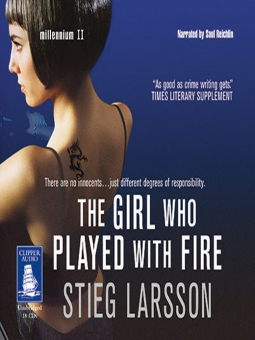 The Millennium Series Book 2: The Girl Who Played With Fire Cover