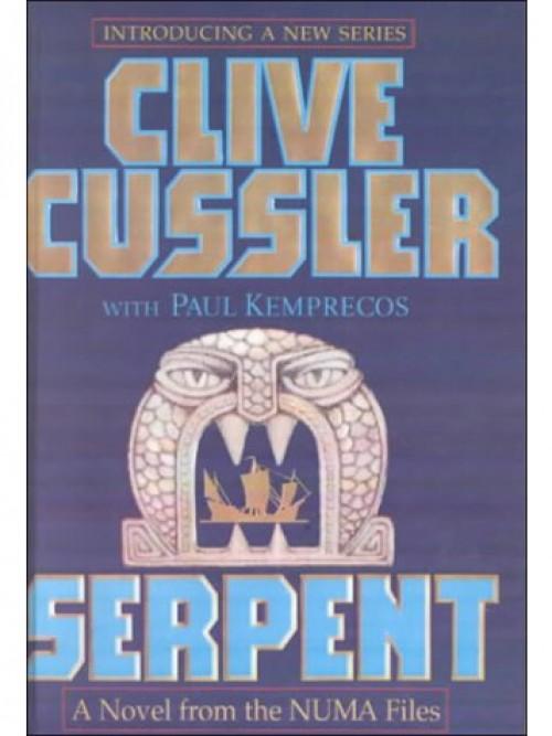 Numa Files Book 1: Serpent Cover