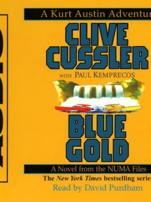 Numa Files Book 2: Blue Gold Cover