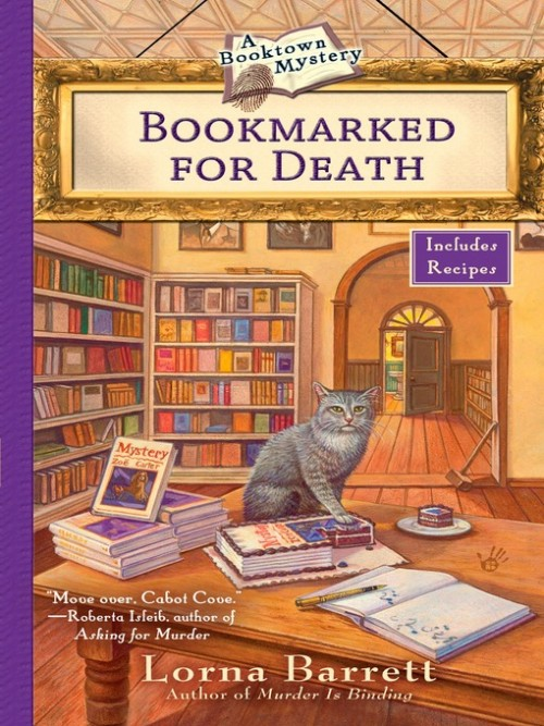 Booktown Mystery Series Book 2: Bookmarked For Death Cover