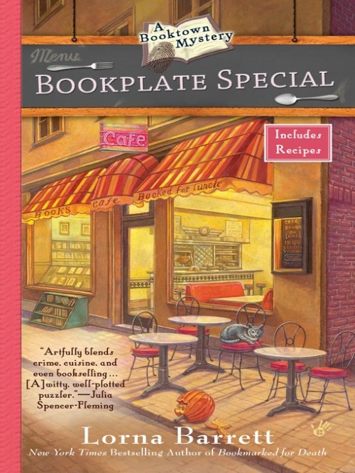 Booktown Mystery Series Book 3: Bookplate Special Cover