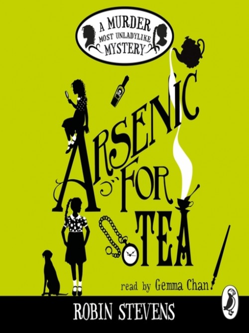 Murder Most Unladylike 2: Arsenic For Tea Cover